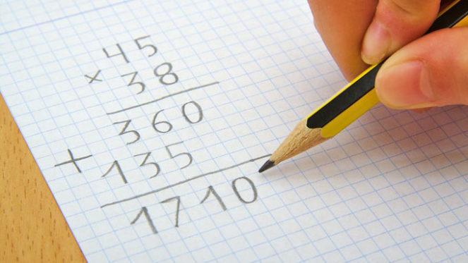 maths pencil simple