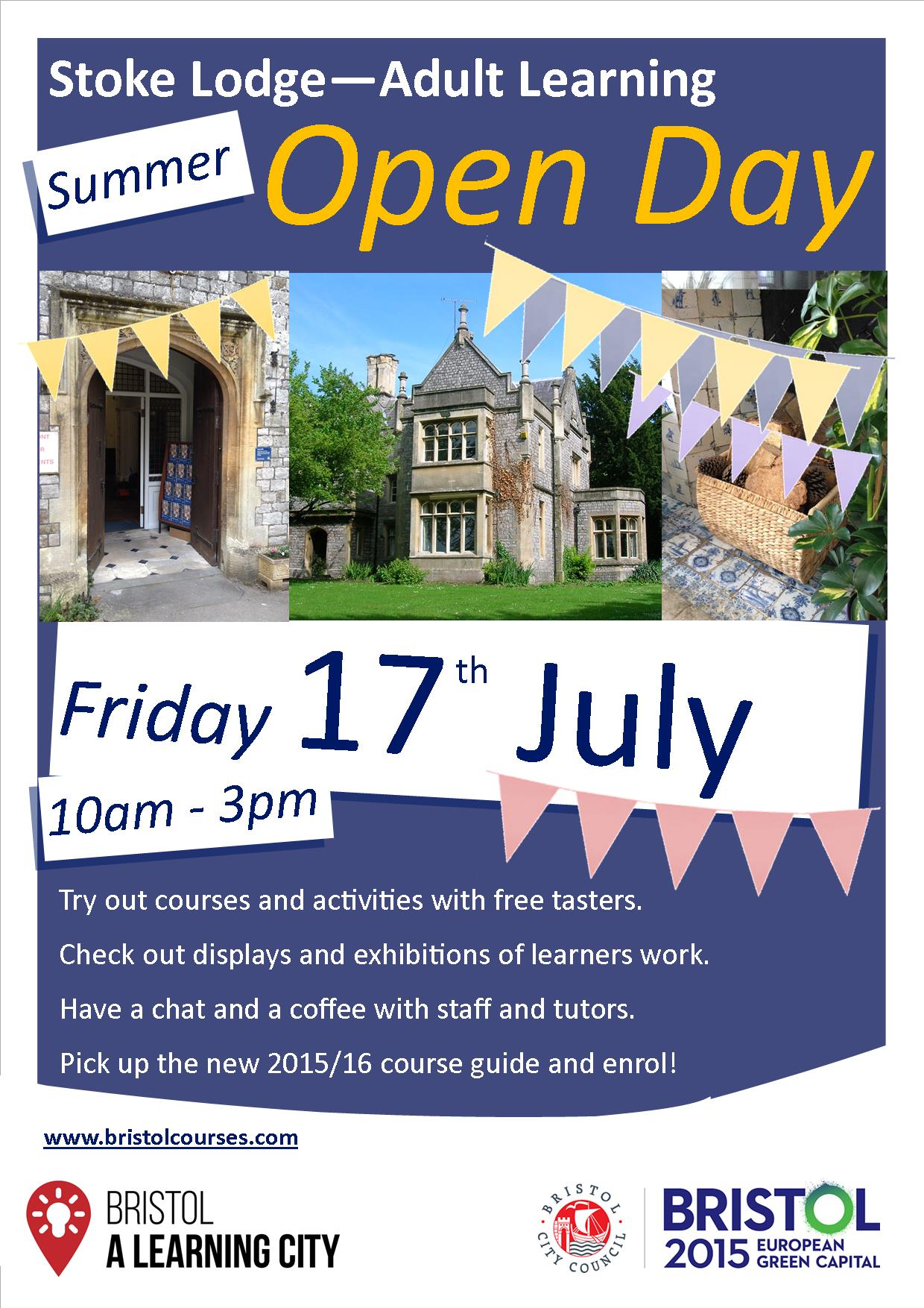Summer Open Day Poster