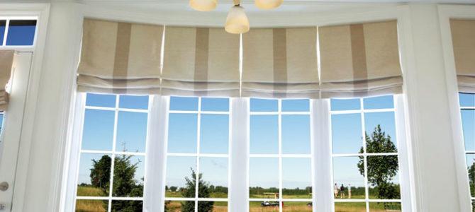 roman blinds window