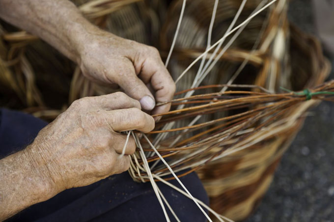 willow weaving